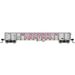 HO 52' Railgon Gondola Wisconsin Central 54273_63927