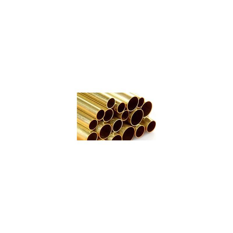 Messing Rohr 2,00 x 980 mm WS 0.45 mm  (1 Stück)_63991