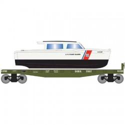 HO 40 flat with boat U.S.Coast Guard Boat 7013_64165