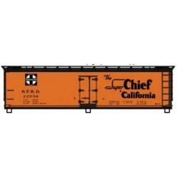 HO 40' Wood Reefer  - kSanta Fe  Super Chief 22536_64364