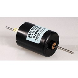 Motor - 5-pole - 29  x 40  dbl. Shaft - 2,4mm Achs_64510