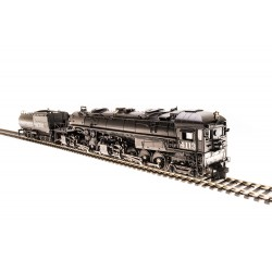 HO SP Cab Forward 4-8-8-2, AC5 4112, Black boiler_64570