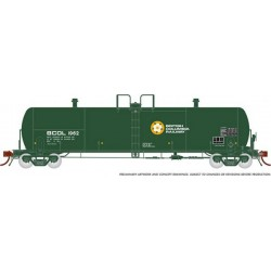 HO Procor 20,000 G Tank Car BC RW 4-car Set_64926
