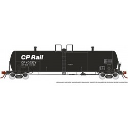HO Procor 20,000 G Tank Car CP Rail 4-car Set_64930