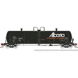 HO Procor 20,000 G Tank Car w/Alberta early 1 car_64934
