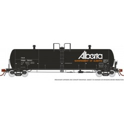 HO Procor 20,000 G Tank Car Alberta late 6-car_64937