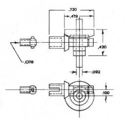 300-7036 2 : 1 Ratio Gear_6531
