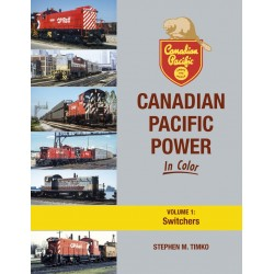 Canadian Pacific Power In Color Volume 1: Switcher_65312