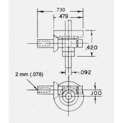 300-7030 2 : 1 Ratio Gear Cross Box_6534