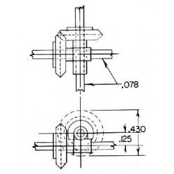 300-7040 1 : 1 Ratio Gear Cross Box_6536