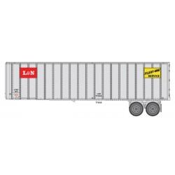 HO 40 Flexi-Van Trailer - 2-pack- Louisville  Nash_65428