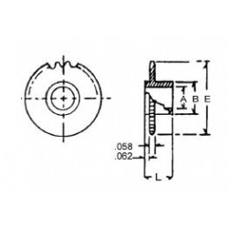300-70122 Delrin Zahnrad 12 Z.  3mm A._6544