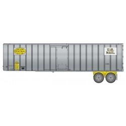 HO 40 Flexi-Van Trailer - 2-pack- NYC yell_65440