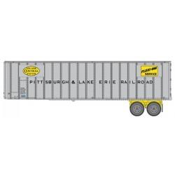 HO 40 Flexi-Van Trailer - 2-pack- Pittsburgh &_65446