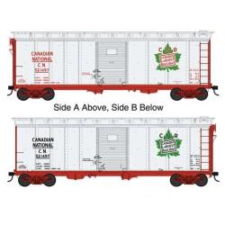 HO 40' Single-Door Steel Boxcar CN 521497_65490