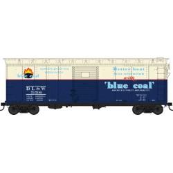 HO 40' Single-Door Steel Boxcar Blue Coal 51507_65497