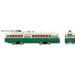 HO Kansas City-Style Streetcar Phila Green 2260 DC_65503