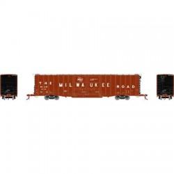 HO 60' PS Auto Box Car Milwaukee Road 4002_65622