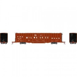 HO 60' PS Auto Box Car Milwaukee Road 4020_65624