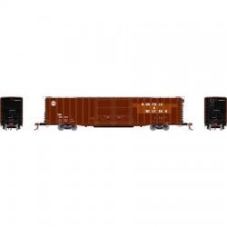 HO 60' PS Auto Box Car Norfolk & Western 600410_65630