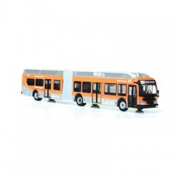 HO New Flyer Xcelsior XN60 Articulated Bus LA Metr_65771