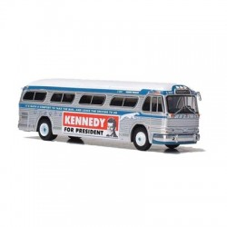 HO 1958 GM PD4104 Bus Greyhound (Kennedy Campaign_65775