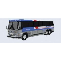 HO 1984 MCI MC-9 Motorcoach Bus Greyhound (Americr_65781