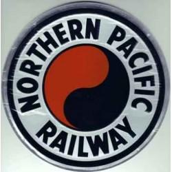 460-10013 Die-cast metal sign Northern Pacific_65825