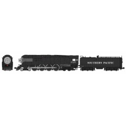 N GS-4 Southern Pacific Post War Black 4445 DC_65847