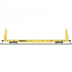 HO Bulkhead Flat Car TTX 804108_65956
