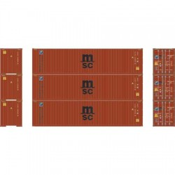 HO 40' High-Cube Container MSC/Florens (3) Set 1_66314