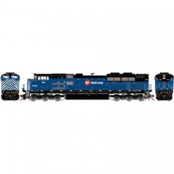 HO SD70ACe Montana Rail Link 4400 DCC-Sound_66822