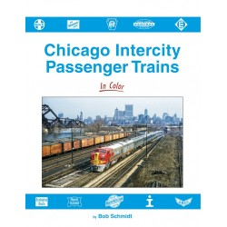 Chicago Intercity Passenger Trains In Color_67121