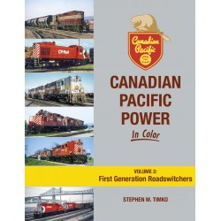 Canadian Pacific Power In Color Volume 2: First Ge_67123