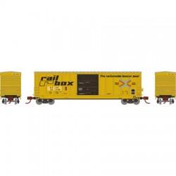 N 50' PS5227 Box Car Santa Fe 51396_67165