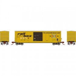 N 50' PS5227 Box Car Santa Fe 51581_67177