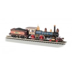 HO 4-4-0 American - Union Pacific #119 w/Coal Load_67258
