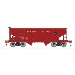 HO Class GLa 2-Bay Hopper Lehigh Valley (1939-1950_67423