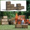 HO Erntekisten (10) echt Holz Bausatz 14x11mm x 10_67458