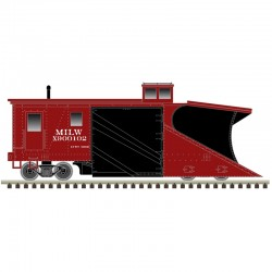 N Russell Snow Plow Milwaukee Road X 900102_67543