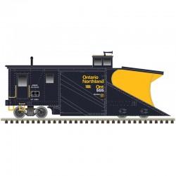 N Russell Snow Plow Ontario Northland 555_67545