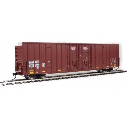 HO 60' High-Cube Plate F Boxcar TTX 889003_67808