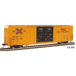 HO 60' High-Cube Plate F Boxcar TTX - TBOX 661352_67810