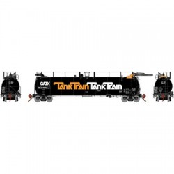 HO TankTrain Intermediate, GATX /orange let 48664_67861