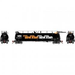 HO TankTrain Intermediate, GATX /orange let 48666_67863