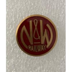 6709-NWH Pin N & W Railway_68020