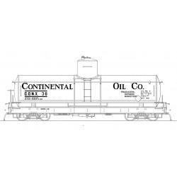 ON3 CONX 33 1930 lettering black car 22_68230