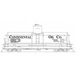 ON3 CONX 33 1930 lettering black car 26_68231