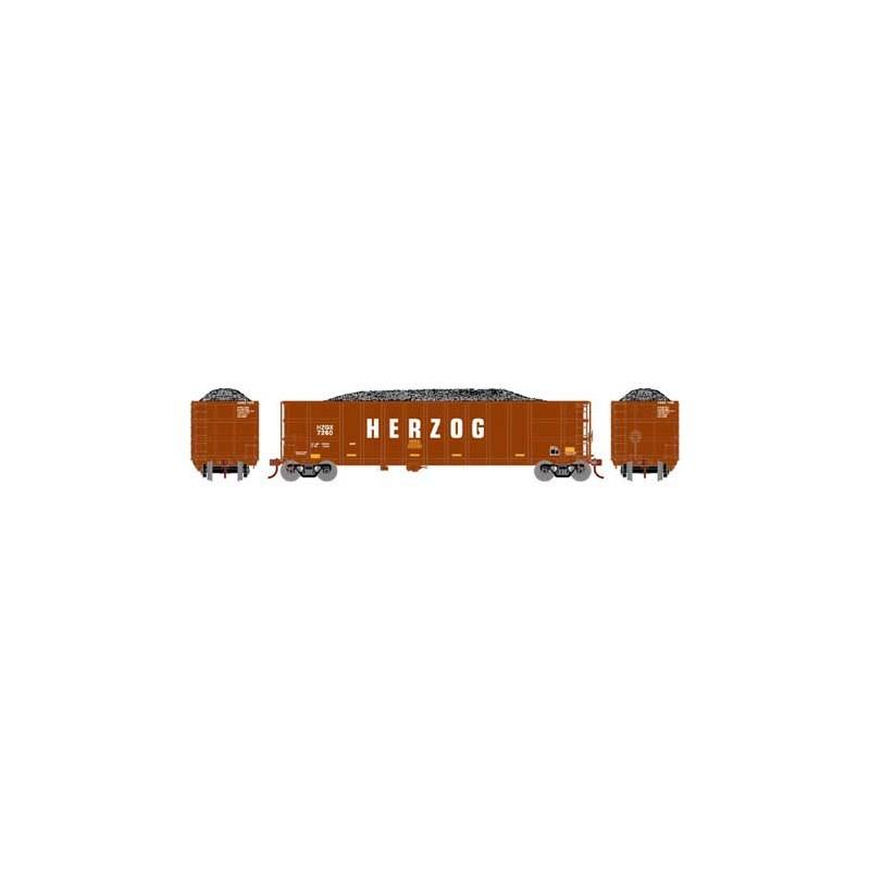 HO Thrall High Side Gondola Herzog -brown 7260_68354
