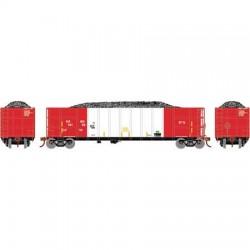 HO Thrall High Side Gondola Herzog - red whi 10104_68356